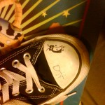 Janie drew a bug on her borther&#039;s shoe. Hope he&#039;s okay with that.